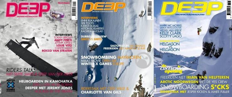 Ski- en Snowboardmagazines